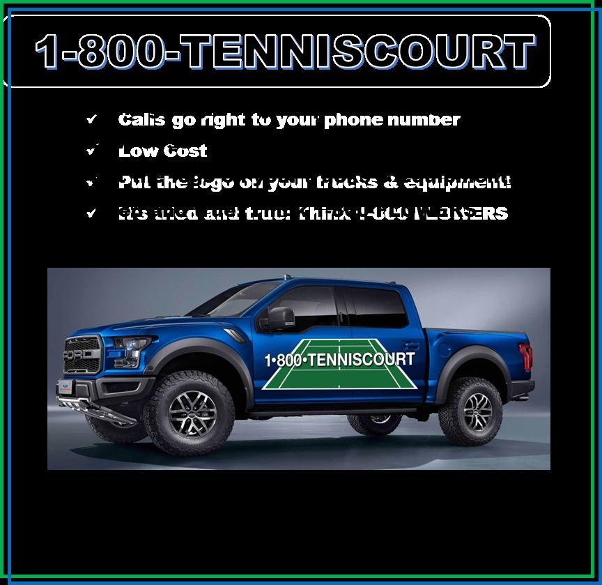 1-800-TENNISCOURT Launches March 1st | Dalton Coatings